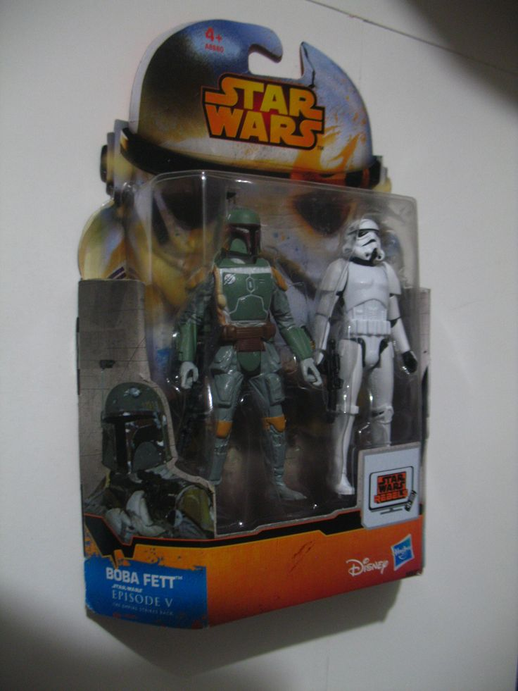 Star Wars Mission Series Figure Set (Boba Fett and Stormtrooper)