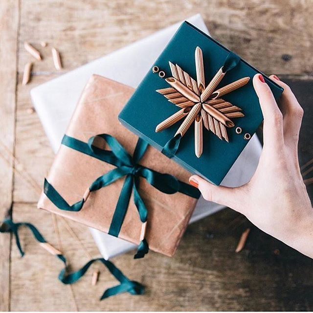 Our favourite holiday wrapping ideas are on Pinterest   Follow us: YorkdaleStyle  #YorkdaleCheer #CentreOfStyle  @anthropologie