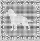 Resultado de imagem para free poodle crochet graph pattern