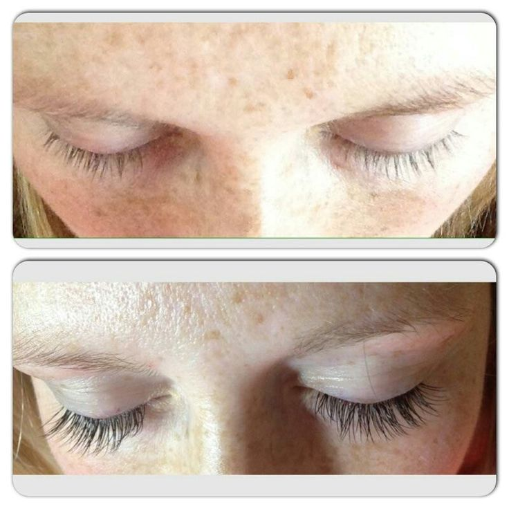 Colleen before and after eyelash extensions eyelashes