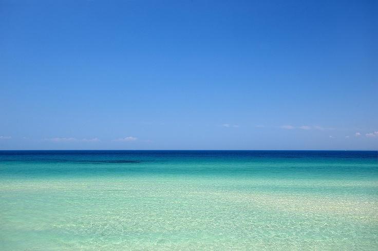 Bousoulas beach at Sani, Chalkidiki, Greece