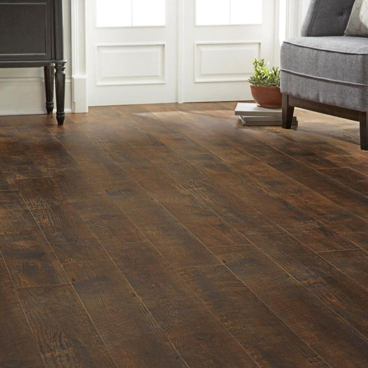 Home Decorators Collection Medora Hickory 12 Mm Thick X 6 7 16 In Wide X 47 3 4 In Length