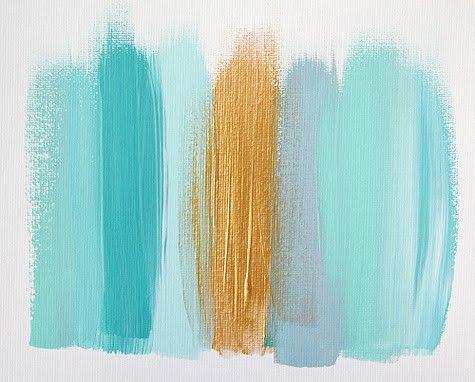 Color palette, artwork