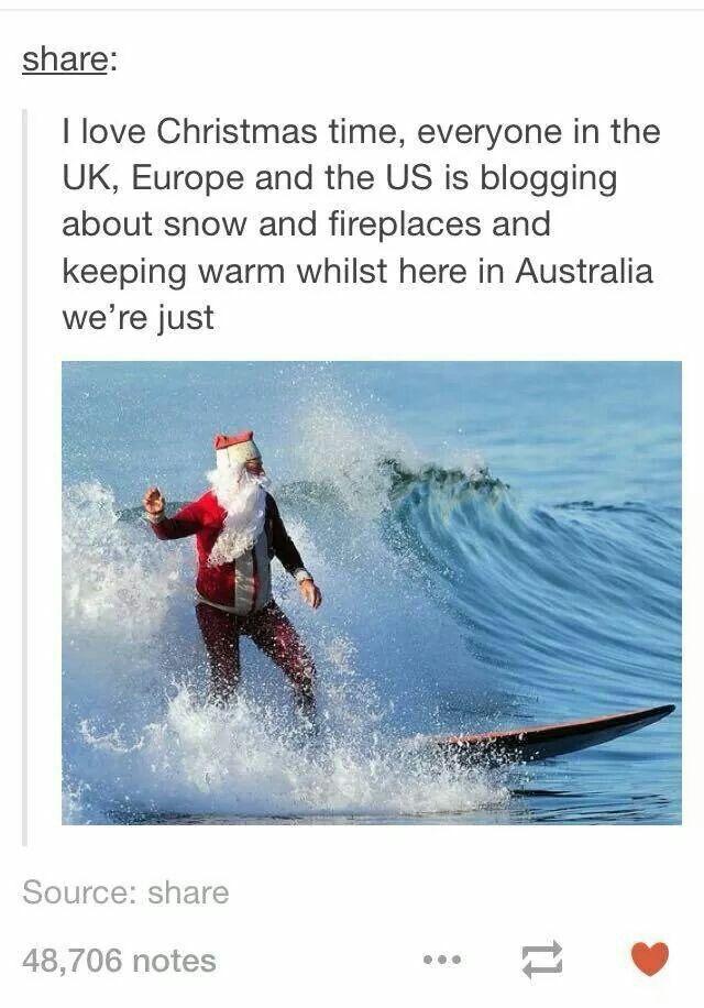 Surfing Santa ♂️