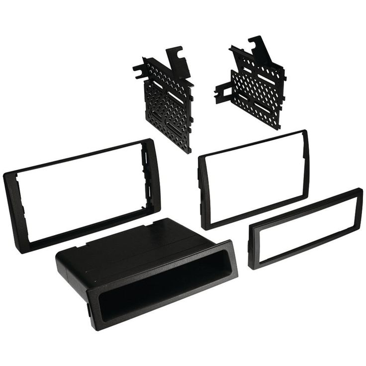 Best Kits Toyota Camry 2002-2006 Double-din And Single-din With Pocket Kit