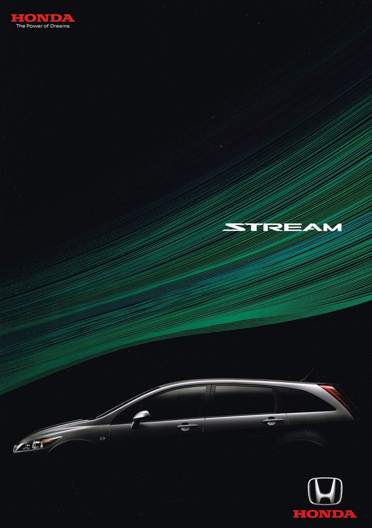 Honda Stream Mk2 Japan Brochure 2006