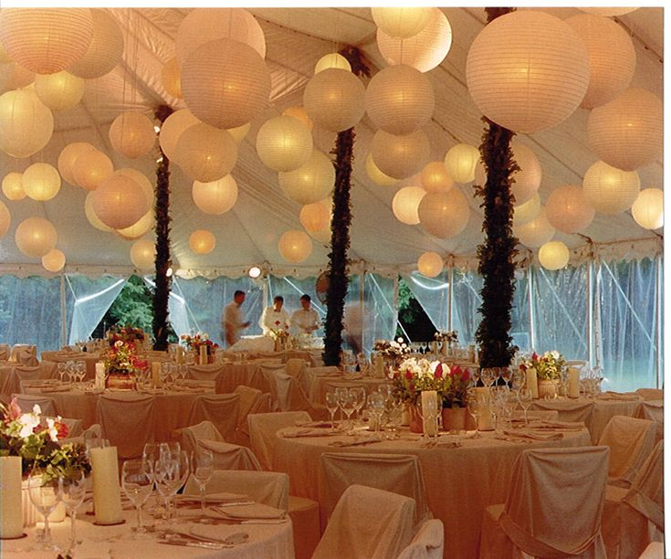 Rainingblossoms Wedding Receptions Tents Decoration: It's Wonderful To Step Into A Party Tent With This Kind Of