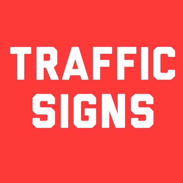 road signs and meanings pdf uk