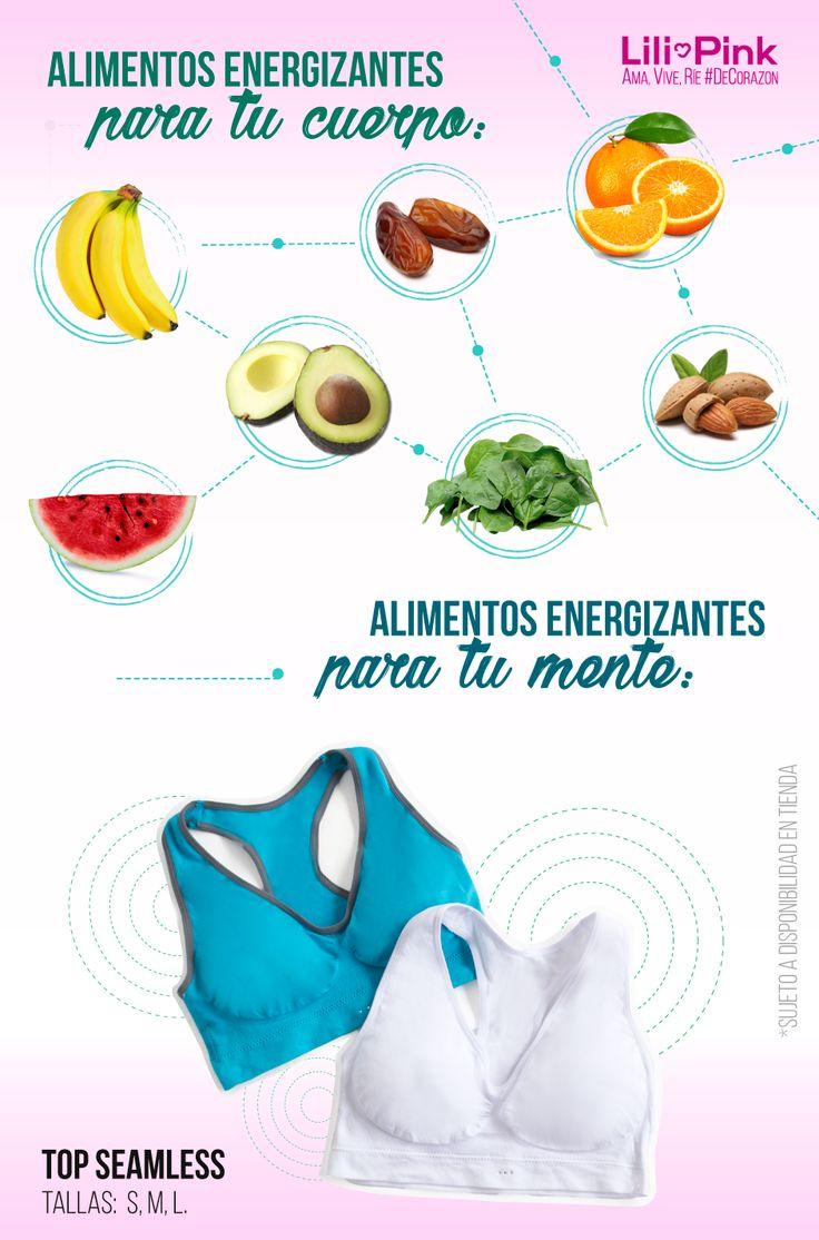 Consume estos alimentos 🍌 para comenzar tu vida fitness y estrena este #Top seamless en paquetería x2 a $29,900. Ama, Vive, Ríe #DeCorazon