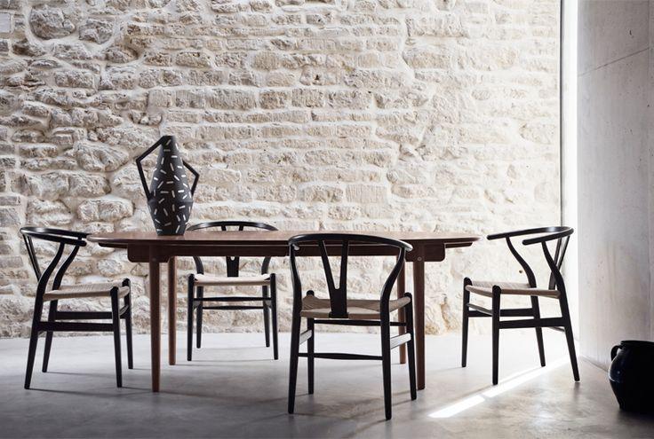CH338 Matbord - Carl Hansen & son - Dennys Home - Kampanj på alla Matbord och stolar tom 25/3-2015 #dining #matbord #bord #chair #chairs #dinner #diningtable #dinnertable #inredning #möbler #interior #carlhansen #hansen #oak #ek #valnöt