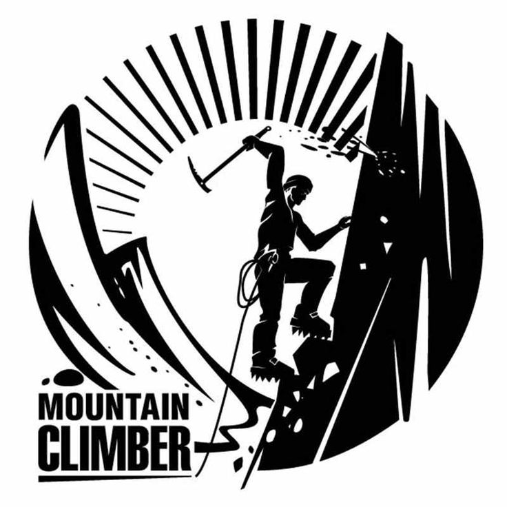 ==> [Free Shipping] Buy Best Climbing Sticker Climber Decal Extreme Sports Posters Vinyl Wall Decal Parede Decor Mural Climbing Sticker Online with LOWEST Price | 32718846624