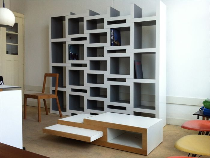 Superb EXPAND, ADAPT: REK Bookcase And Coffee Table By Reinier De Jong