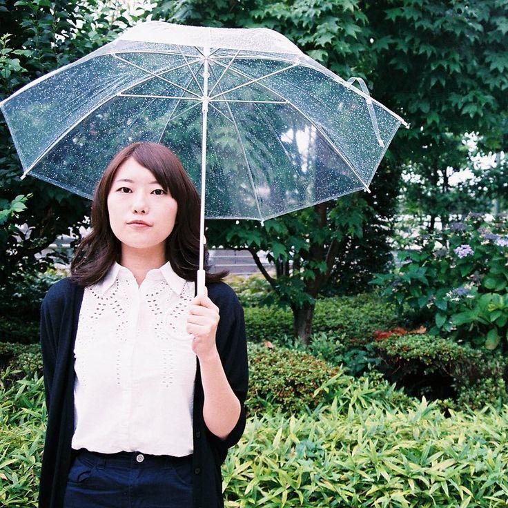 Snap in rainy day  #haircolor #ヘアカラー  #rain #hairsnap