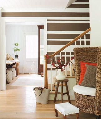 13 Best Striped Accent Wall Images On Pinterest