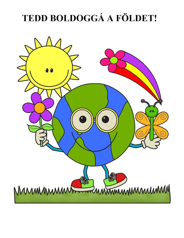 Marci fejlesztő és kreatív oldala: Föld napja- Április 22.