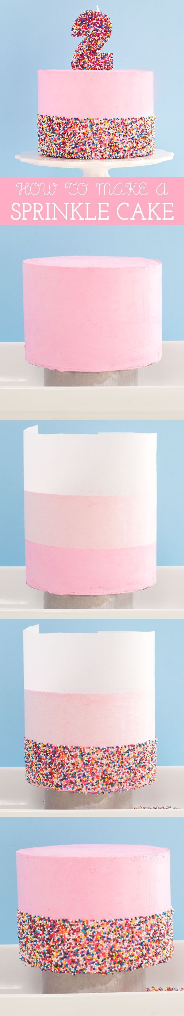 How To Make A Sprinkle Cake | Sprinkles for Breakfast
