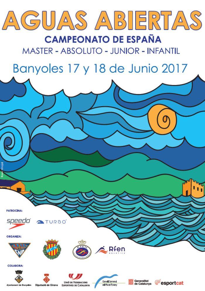 28 nadadores andaluces viajan a Bañolas para darlo todo en el Campeonato de España de aguas abiertas