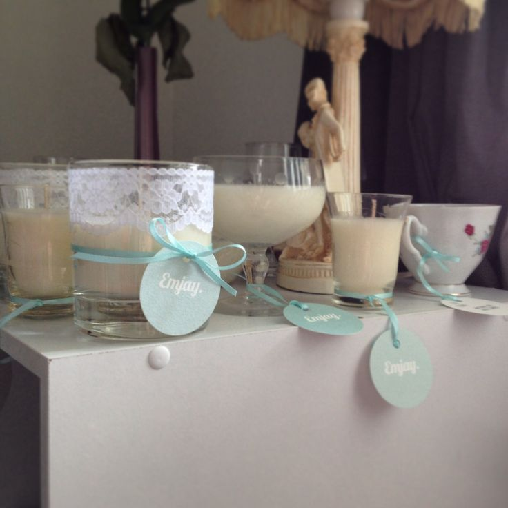 Soy candle collection