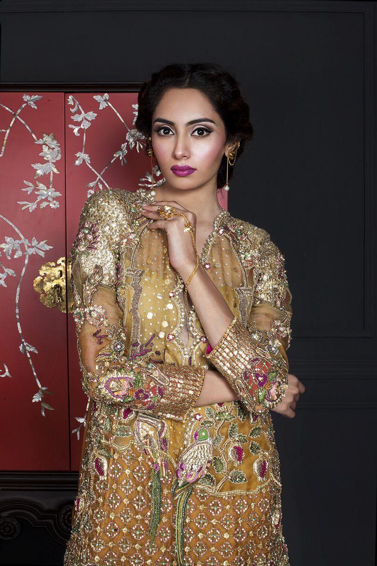 """pakistanifashionedits """" """"Arjumand Bano Bridals S/S 2016"""