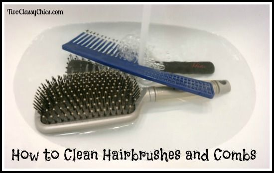 Natural Ways To Clean A Hairbrush
