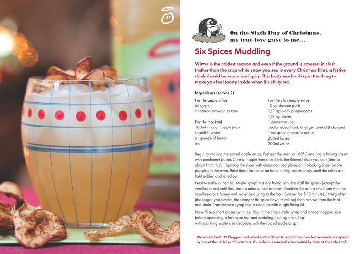 On the Sixth Day of Christmas, my true love gave to me...Six Spices Muddling