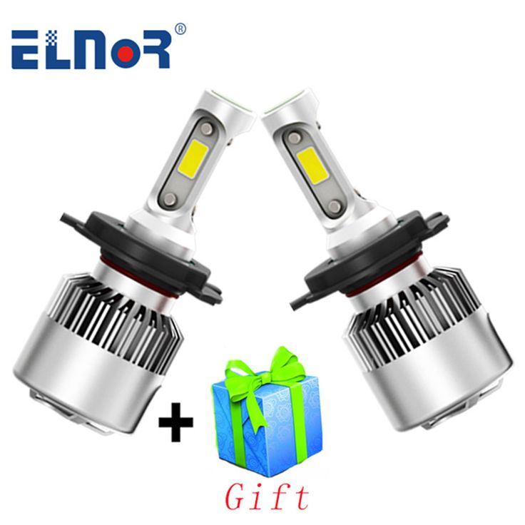ELNOR H4 <b>LED H7 LED H11</b> H8 H9 H1 9006 HB4 <b>Car</b> Light ...