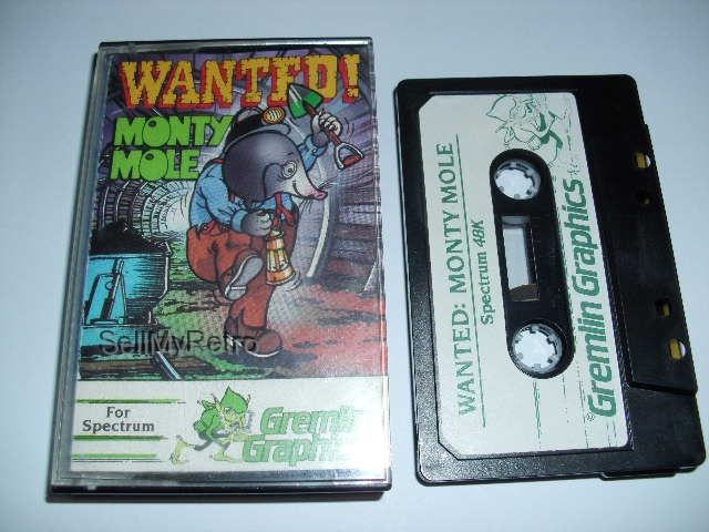 Sinclair ZX Spectrum Game: Wanted! Monty Mole