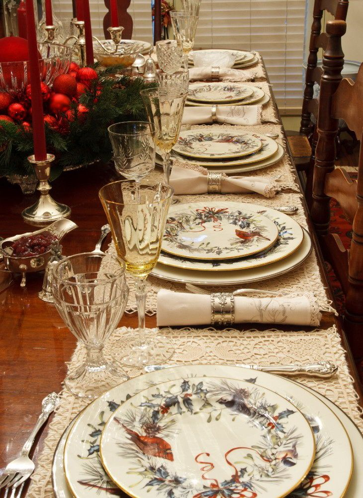 842 best christmas tables in style images on pinterest