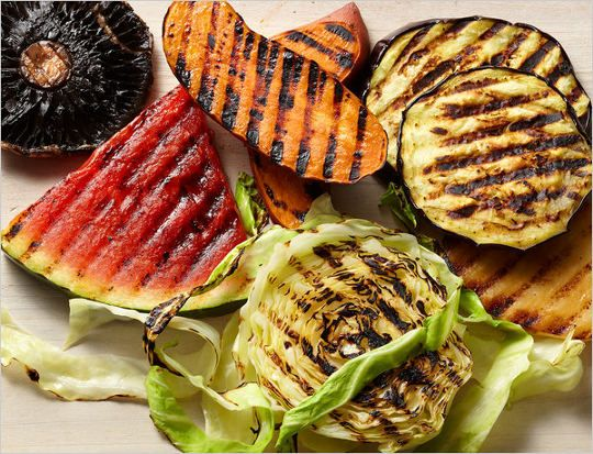Vegetarian grilling - including grilled watermelon! Article by Mark Bittman in the NYT.