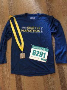 Seattle Half Marathon Recap