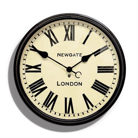 I hope newgate ships to canada i adore this station clock for Newgate battersby wall clock