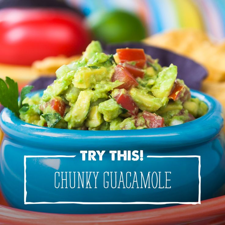 If you love José Olé chicken taquitos or burritos, or even chimis, dip this with avocado and more avocado with this tasty guacamole!