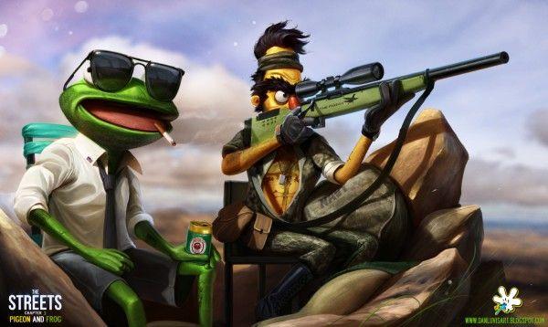 Le Muppet Show vu par l'artiste DanLuVisiArt
