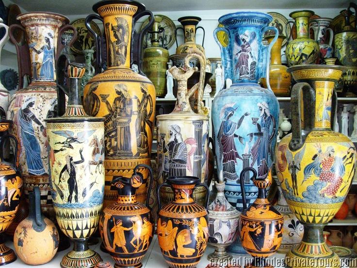 Rhodian Potteries - The East Coast Rhodes Island Greece