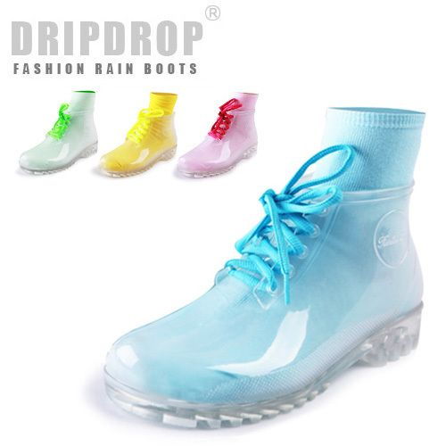 Cheap boots names, Buy Quality boots office directly from China boots  dating Suppliers: freeshipping! Female transparent crystal rain boots  martin fashion ...