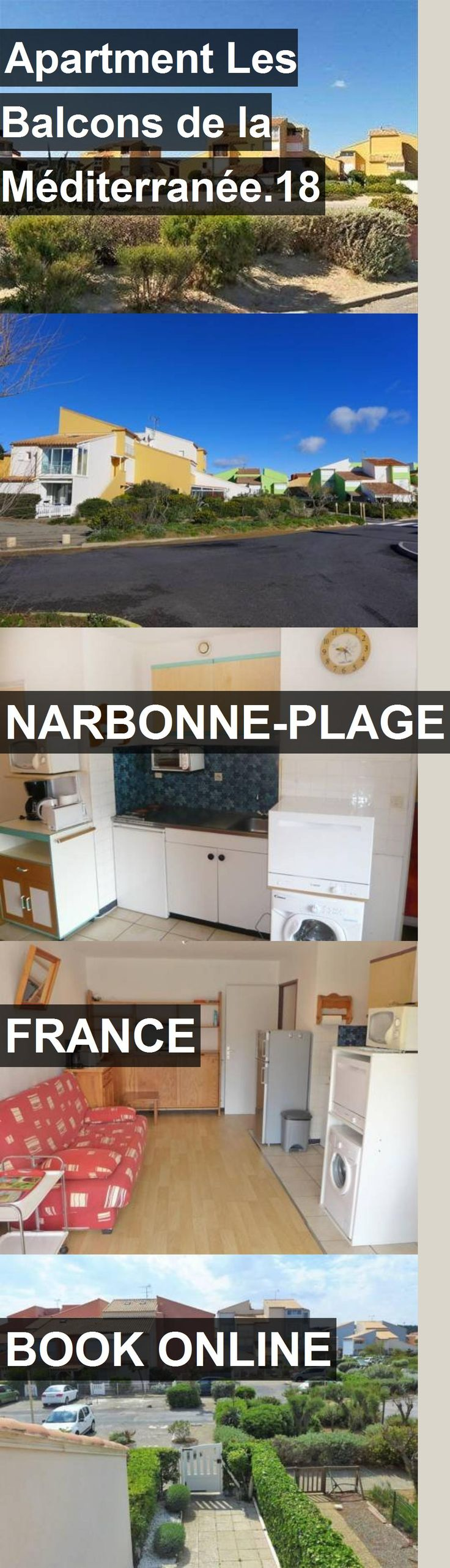 Apartment Les Balcons de la Méditerranée.18 in Narbonne-Plage, France. For more information, photos, reviews and best prices please follow the link. #France #Narbonne-Plage #travel #vacation #apartment