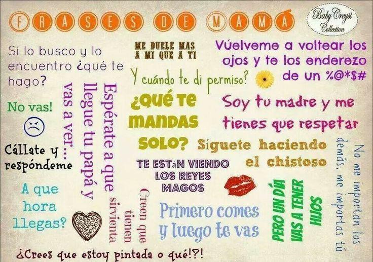 Frases Para Mama: DICHOS Y REFRANES