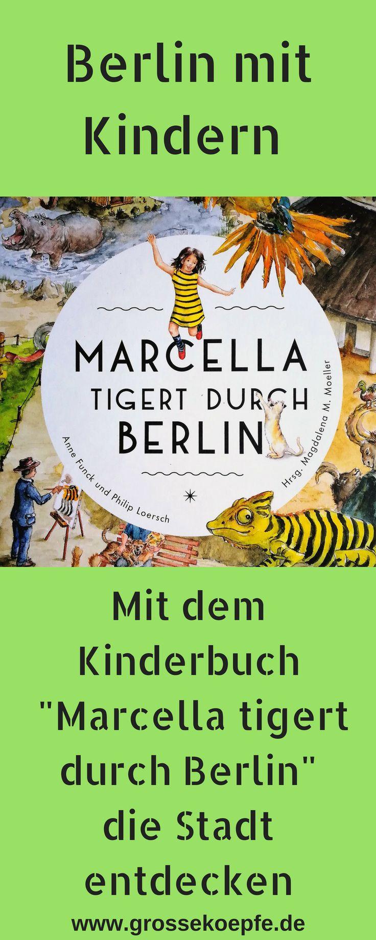 """Mit """"Marcella tigert durch Berlin"""" die Stadt entdecken"""