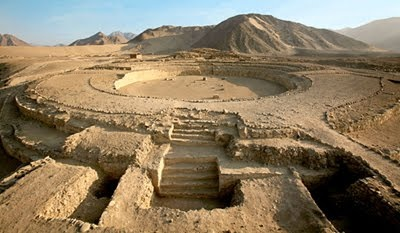 Caral, Peru... oldest city in the Americas