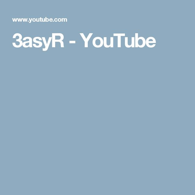3asyR - YouTube