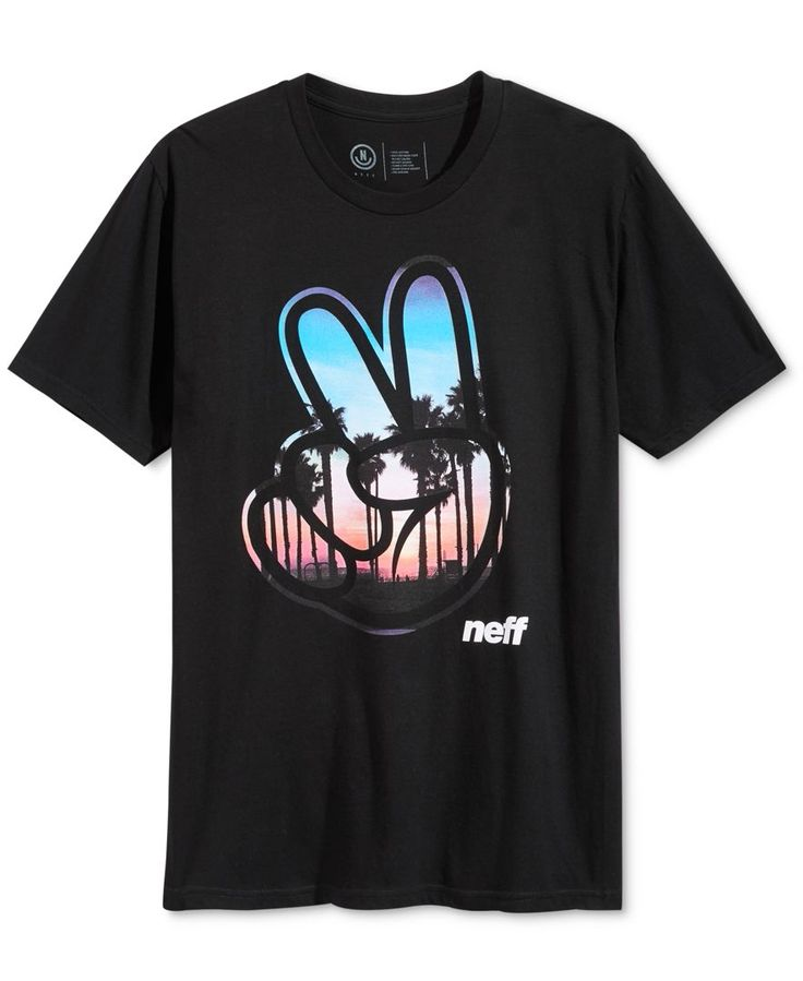 Neff throws up awesome style with this graphic-print T-shirt for a cool addition to your collection. | Cotton | Machine washable | Imported | Crew neck | Graphic print at front | Web ID:2887440
