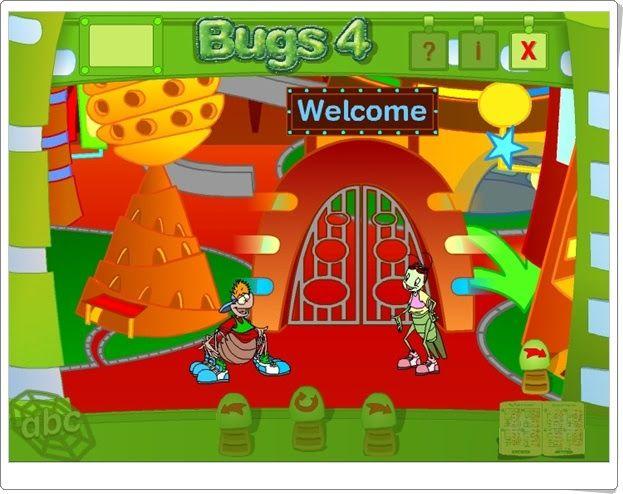 """""""Bugs World 4"""". Juegos, actividades interactivas y materiales didácticos complementarios de Inglés de 4º Nivel de Educación Primaria de Editorial Macmillan."""