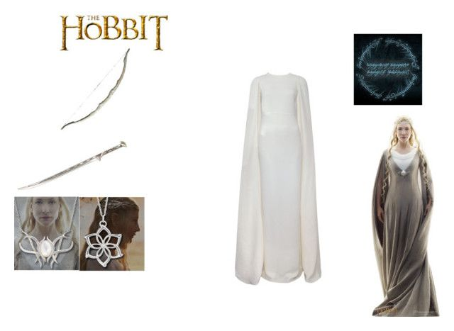 elf queen  FROM lord of the rings by mayleneholm on Polyvore featuring art
