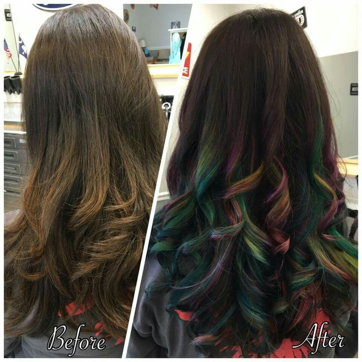 1000+ Ideas About Wild Hair Colors On Pinterest