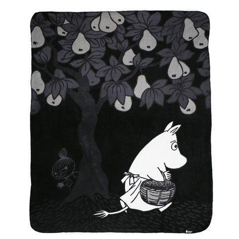 Moomin fleece blanket