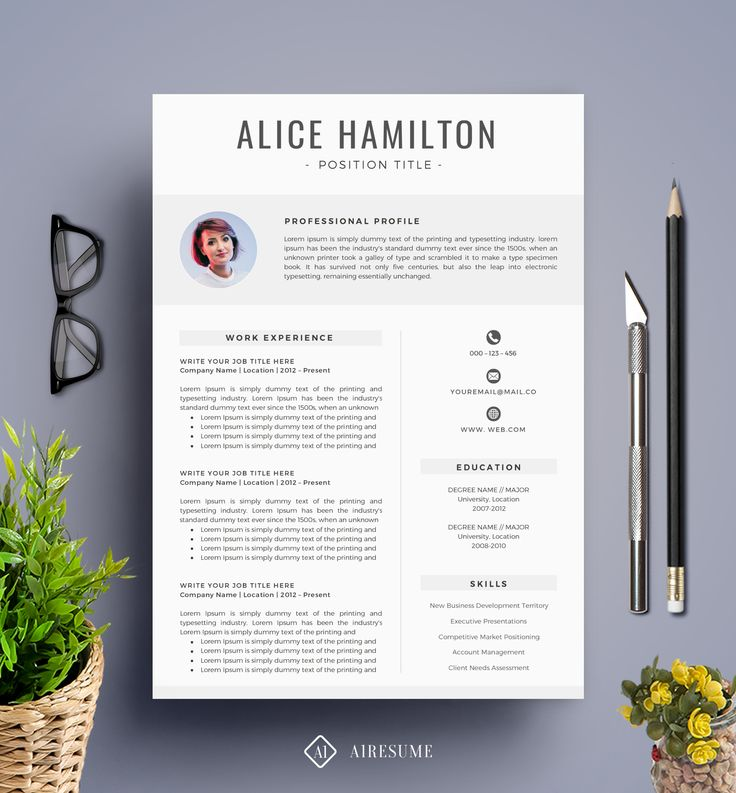 Best Free Resume Template Images On   Cv Template