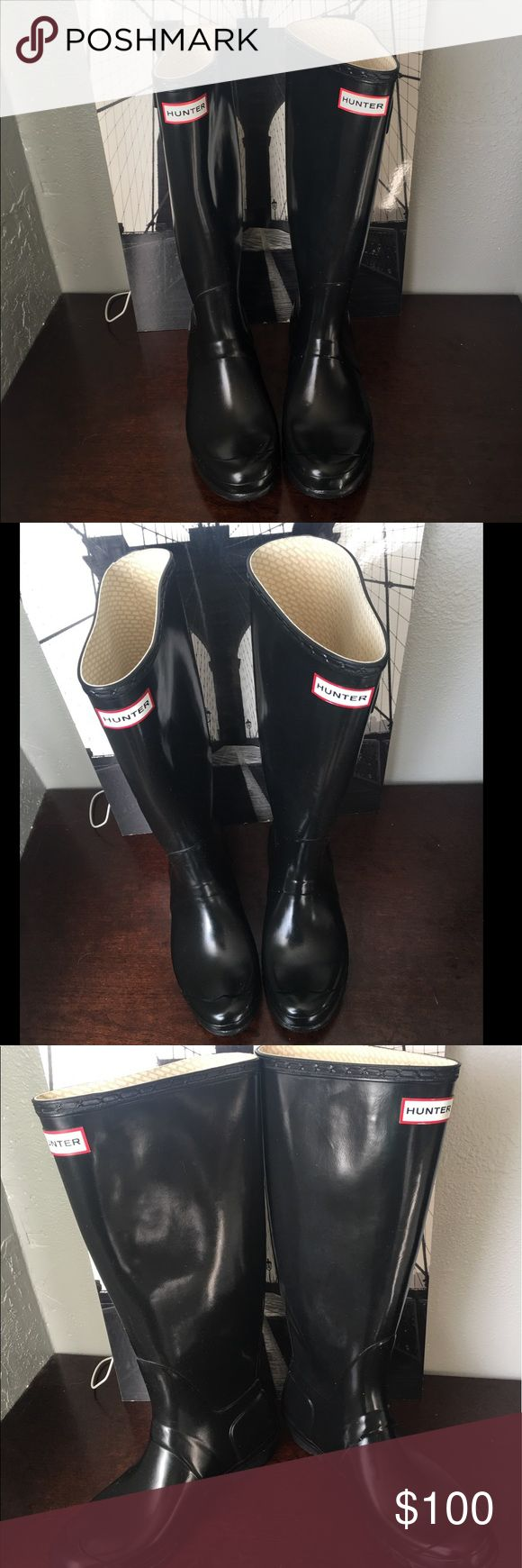"Tour' Packable Rain Approx. heel height: 1 1/4"". Approx. boot shaft height: 15 1/2""; 16"" calf circumference. Hunter Boots Shoes Ankle Boots & Booties"