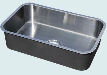 Custom Stainless Steel Kitchen Sinks # 4881