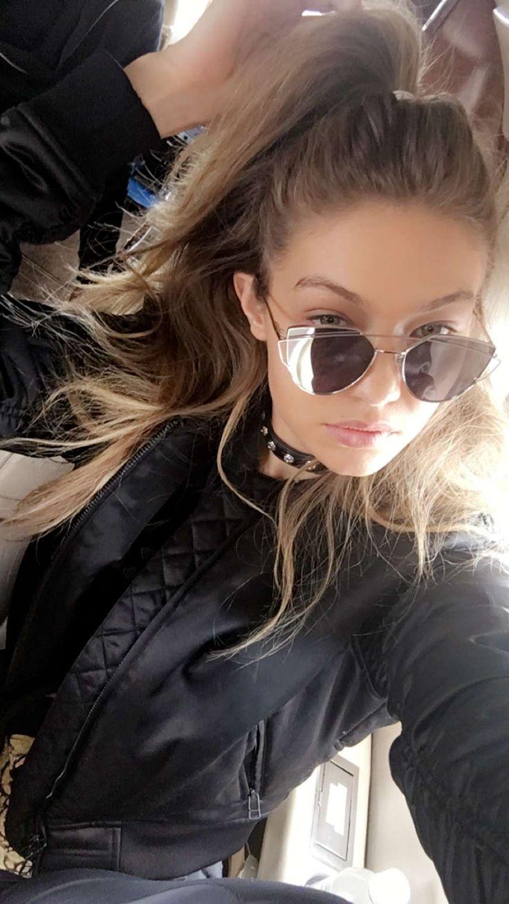 justgigihadid:  May 1: Gigi via snapchat.