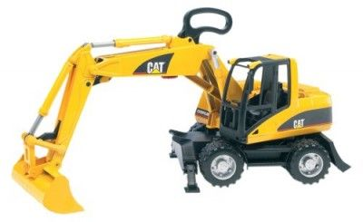 Brinquedo CATERPILLAR small Excavator #Brinquedo #Bruder Toys